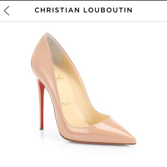 quality design 27df5 8cbd7 🎉HP🎉 Christian Louboutin So Kate 120 Pump